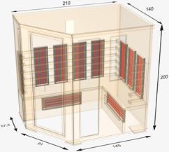nobel saunen. Black Bedroom Furniture Sets. Home Design Ideas